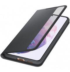 Husa Original Samsung Galaxy S21 Plus Samsung Smart Clear View Cover Black
