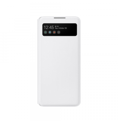 Husa Original Samsung Galaxy A72 Samsung Smart S View Wallet Cover (EE) White