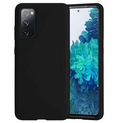 Husa Samsung Galaxy S20 FE Lemontti Silicon Soft Slim Black