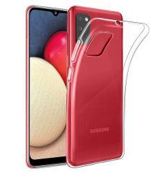 Husa Samsung Galaxy A02s Lemontti Silicon Transparent