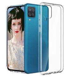 Husa Samsung Galaxy A12 Lemontti Silicon Transparent