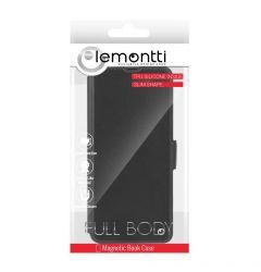 Husa Xiaomi Redmi 9 Lemontti Book Elegant Negru