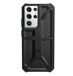 Husa Samsung Galaxy S21 Ultra 5G UAG Monarch Series Carbon Fiber