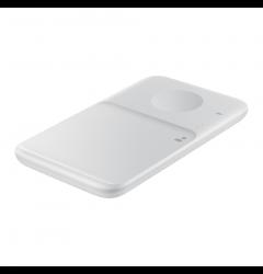 Incarcator Original Travel Adapter Wireless USB PD/9W Samsung Duo Pad White