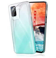 Husa Oppo A54 5G Lemontti Silicon Transparent