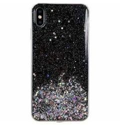 Husa Samsung Galaxy A02s Wozinsky Star Glitter Negru