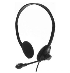 Casti cu fir Tellur Basic PCH1 Black (USB, microfon)