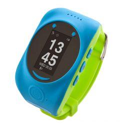 Smartwatch MyKi de Urmarire si Localizare pentru copii prin GPS/GSM Blue Green