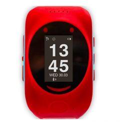 Smartwatch MyKi de Urmarire si Localizare pentru copii prin GPS/GSM Red Sky Blue