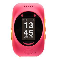 Smartwatch MyKi de Urmarire si Localizare pentru copii prin GPS/GSM Pink Yellow