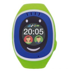 Smartwatch MyKi Touch de Urmarire si Localizare pentru copii prin GPS/GSM Blue Green