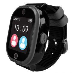 Smartwatch MyKi 4 Lite cu Tripla Localizare Impermeabil Black