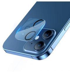 Lentile Camera iPhone 12 Mini Baseus Full Frame Transparent