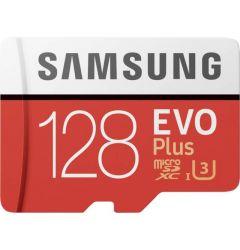 Card Memorie Samsung Evo Plus 2020 MicroSDXC 128 GB Clasa 10 UHS-I + Adaptor SD (100MB/s)