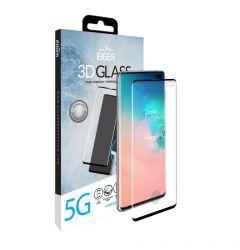 Folie Samsung Galaxy S10 5G Eiger Sticla 3D Case Friendly Clear Black