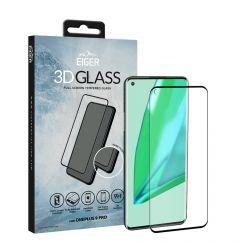 Folie OnePlus 9 Pro Eiger Sticla 3D Edge to Edge Clear Black