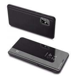 Husa Samsung Galaxy A20s Lemontti Clear View Negru