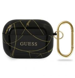 Husa Airpods Pro Guess Chain Collection Auriu