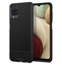 Husa Samsung Galaxy A12 Spigen Core Armor Black