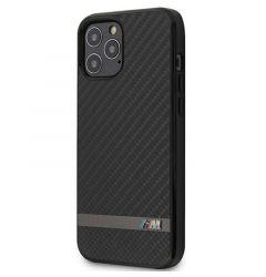Husa iPhone 12 Pro Max BMW Carbon Negru
