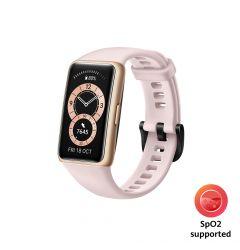 Bratara Huawei Band 6 B19 Stress Tracker Sakura Pink