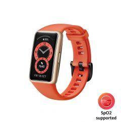 Bratara Huawei Band 6 B19 Stress Tracker Amber Sunrise