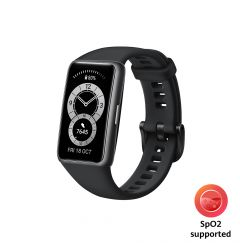 Bratara Huawei Band 6 B19 Stress Tracker Graphite Black