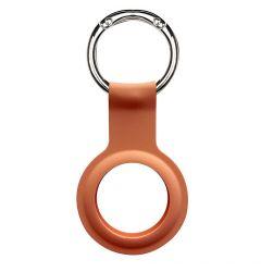 AirTag Devia Silicon Key Ring Orange