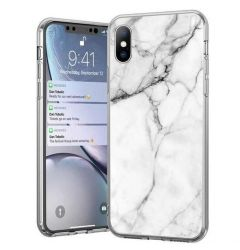Husa Samsung Galaxy A21s Wozinsky Marble Alb