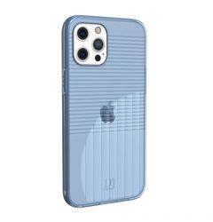 Husa iPhone 12 / 12 Pro UAG Aurora Series Soft Blue