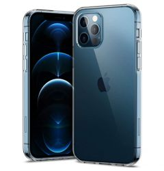 Husa iPhone 12 / 12 Pro Lemontti Ultra Clear Transparent