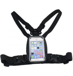 Husa Smartphone 4.5 inch - 6.5 inch Procell Waterproof cu Prindere pe Piept (tip ham elastic)