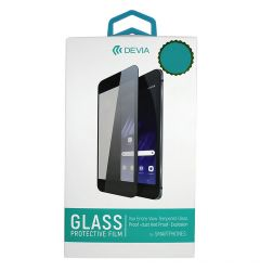 Folie Samsung Galaxy A03s / A02s Devia Frame Sticla Temperata Black