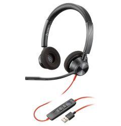 Casti USB Plantronics Stereo BlackWire 3220, BW3320 Black