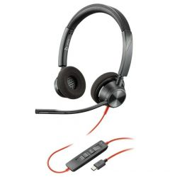 Casti Type-C Plantronics Stereo BlackWire 3220, BW3320 Black