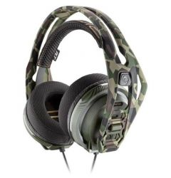 Casti Gaming Plantronics RIG 400HX Jack 3.5mm Forest Camo Over-Ear (cu microfon si cu fir)