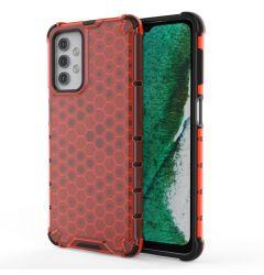Husa Samsung Galaxy A32 5G Lemontti Honeycomb Armor TPU Bumper Rosu