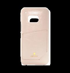 Carcasa Samsung Galaxy S6 G920 Just Must Chic Beige (cu buzunar)