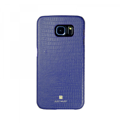 Carcasa Samsung Galaxy S6 G920 Just Must Croco Navy