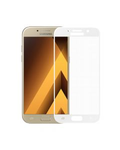 Folie Samsung Galaxy A5 (2017) Meleovo Sticla 3D Defense Curved White (3D, 9H, oleophobic)