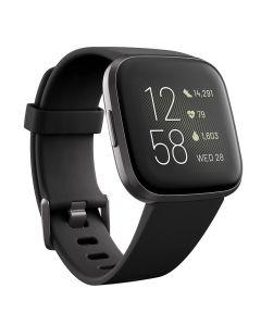 Smartwatch Fitbit Versa 2 (NFC) Black / Carbon Aluminum