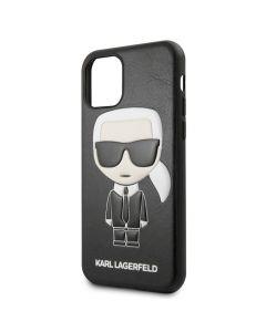 Husa iPhone 11 Pro Max Karl Lagerfeld Ikonik Negru