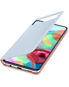 Husa Samsung Galaxy A71 Samsung S View Wallet Cover White