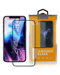 Folie iPhone SE 2020 / 8 / 7 Devia Sticla Van Entire View Black