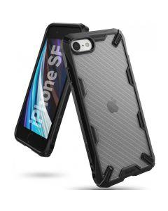 Husa iPhone SE 2020 / 8 / 7 Ringke Fusion X Carbonfiber Black