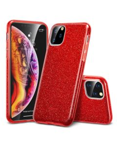 Husa iPhone 11 Pro Esr Makeup Serie Bling Glitter Red