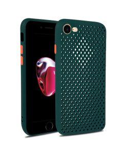 Husa iPhone SE 2020 / 8 / 7 Lemontti Bubble Verde
