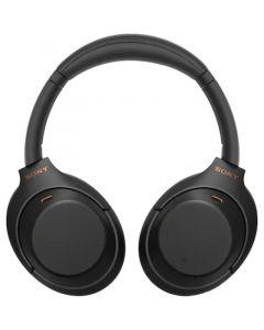 Casti SONY Wireless, NFC, Over-Ear, Microfon, Noise Cancelling, negru