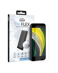 Folie iPhone SE 2020 / 8 / 7 Eiger Clear Tri Flex