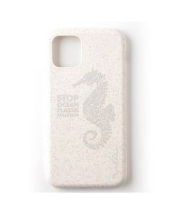 Carcasa iPhone 11 Pro Wilma Stop Ocean Plastic Pollution Blue